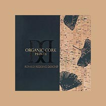 Флизелиновые обои Ronald Redding Organic Cork Textures (York)